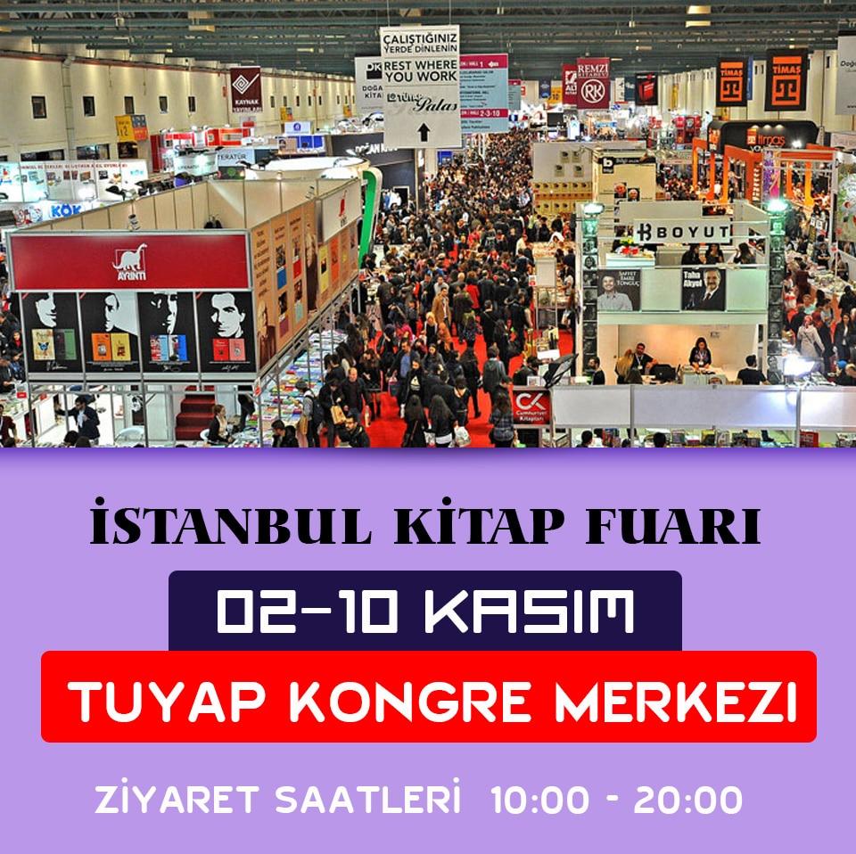 İstanbul Kitap Fuarı 2019